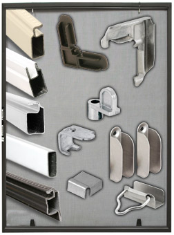 screen security products catalog - Window Screen Frame Parts